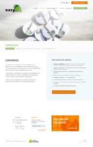 EasyFresh   Website responsive