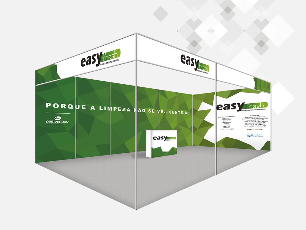 EasyFresh | Comunicação stand feira