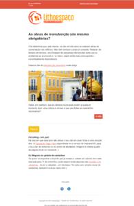 Lithoespaço | Email marketing